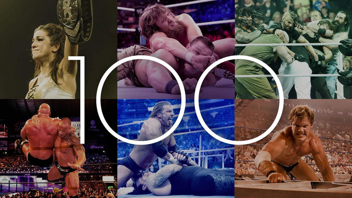 The 100 best matches to see before you die | WWE