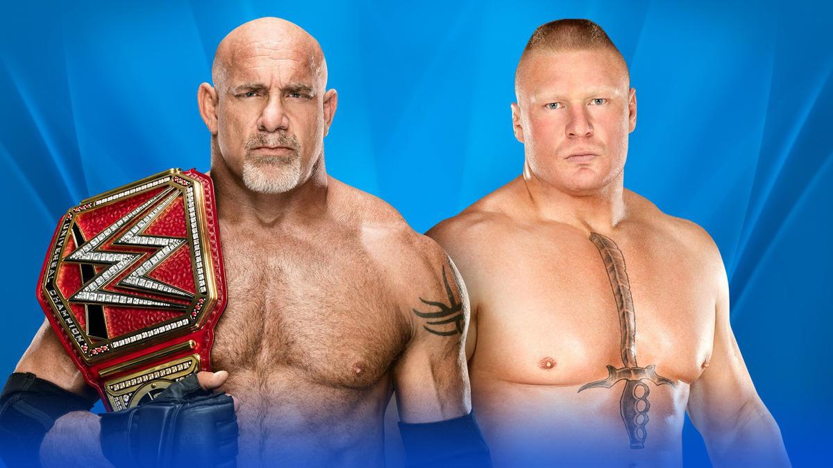 Universal Champion Goldberg vs  Brock Lesnar | WWE