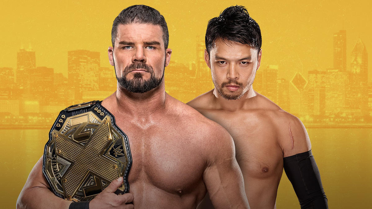 Image result for bobby roode vs hideo itami nxt takeover chicago