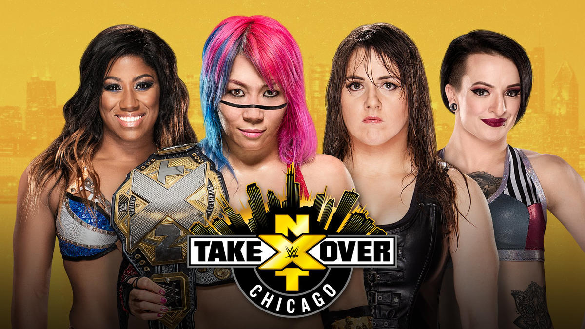 Image result for nxt takeover chicago ember moon asuka