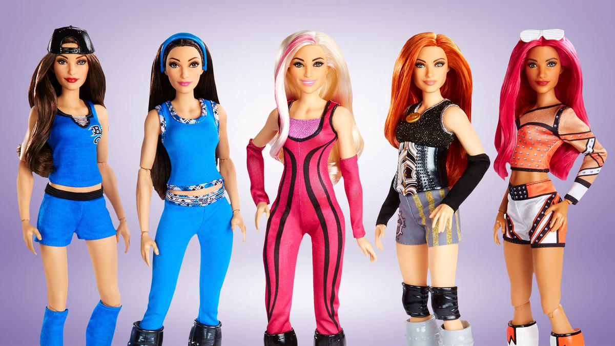 WWE and Mattel launch WWE Superstars fashion doll line at San Diego Comic-Con International | WWE