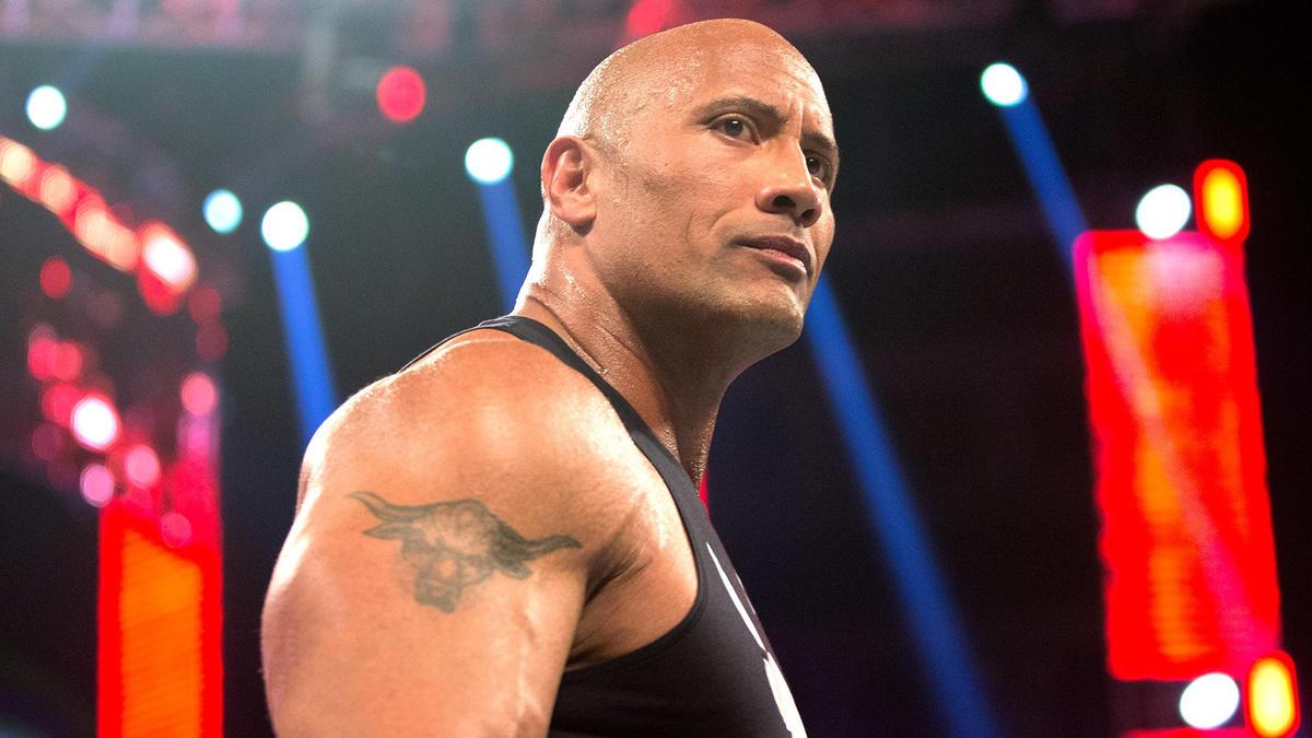 cb70b6489 The Rock updates his iconic Brahma Bull tattoo | WWE