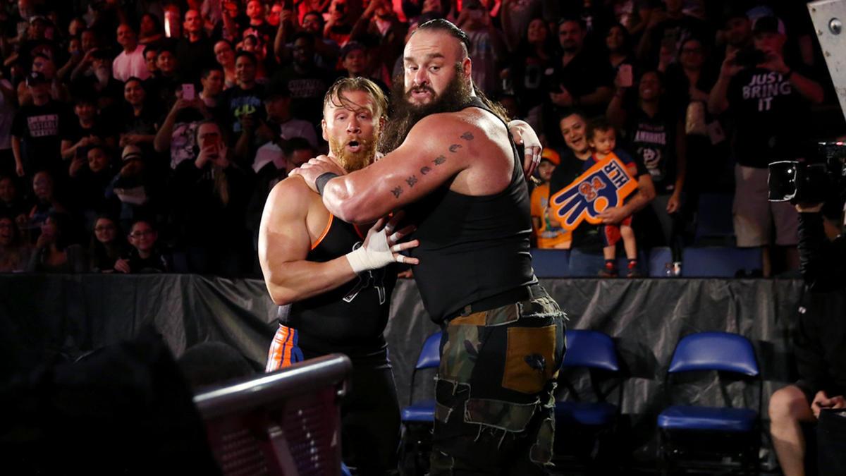 Braun Strowman attacked Curt Hawkins   WWE