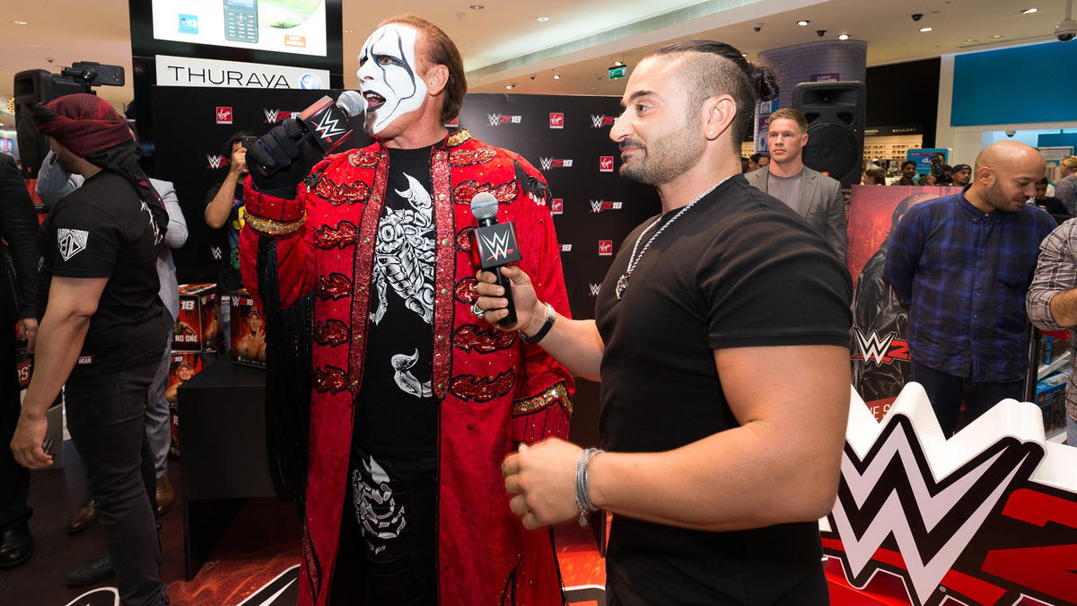 WWE 2K18 Middle East launch event welcomes The Man Called