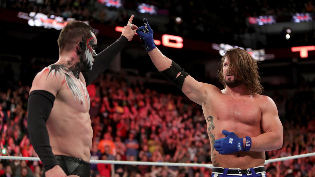 "The Demon"" Finn Bálor def  AJ Styles | WWE"