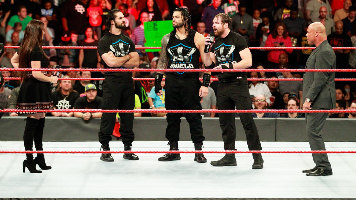 """The Shield addressed The New Day's """"Under Siege: Part II ... 