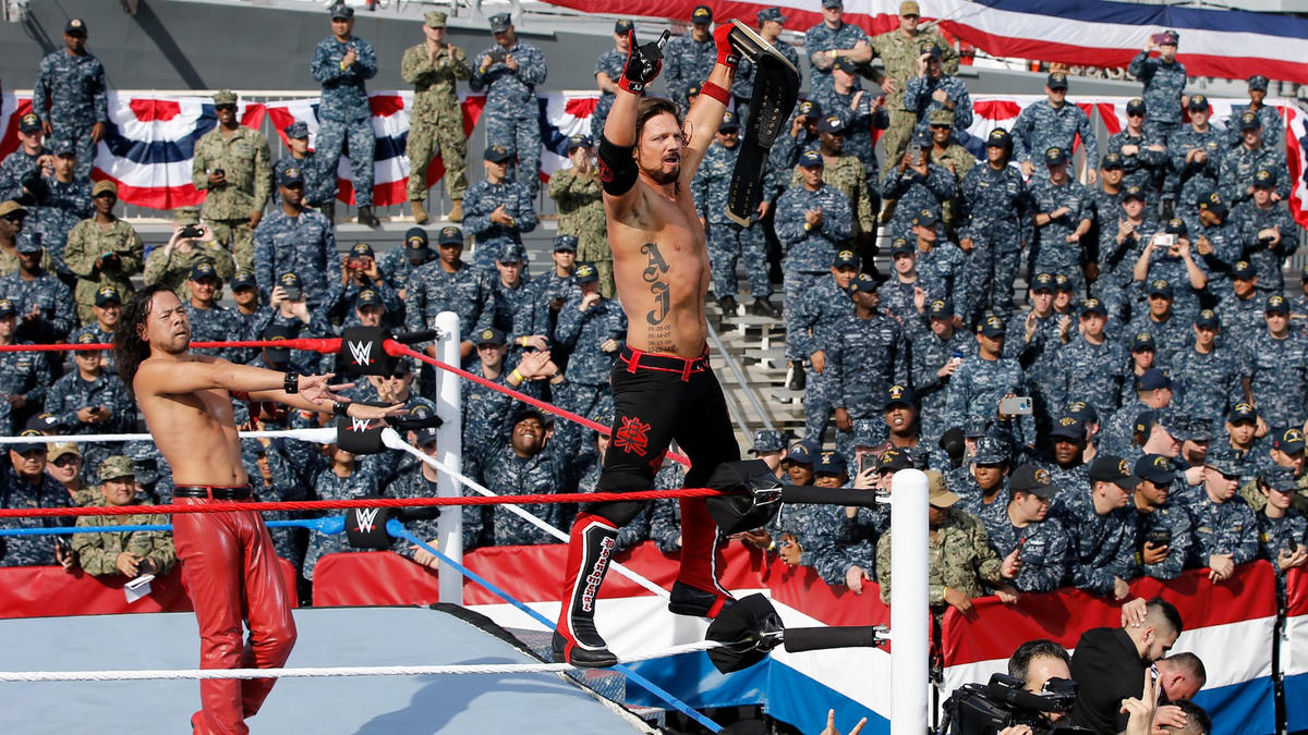 WWE Tribute to the Troops 2017 | WWE