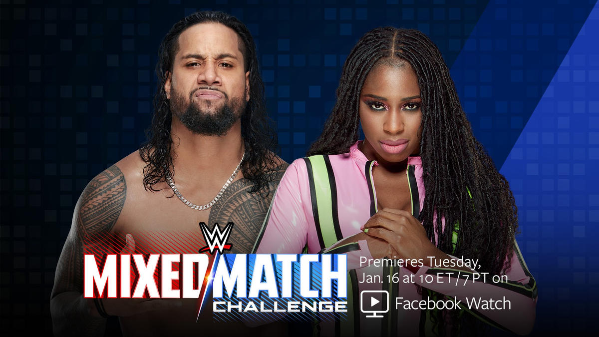 Jimmy Uso to team with his wife Naomi at WWE Mixed Match ...