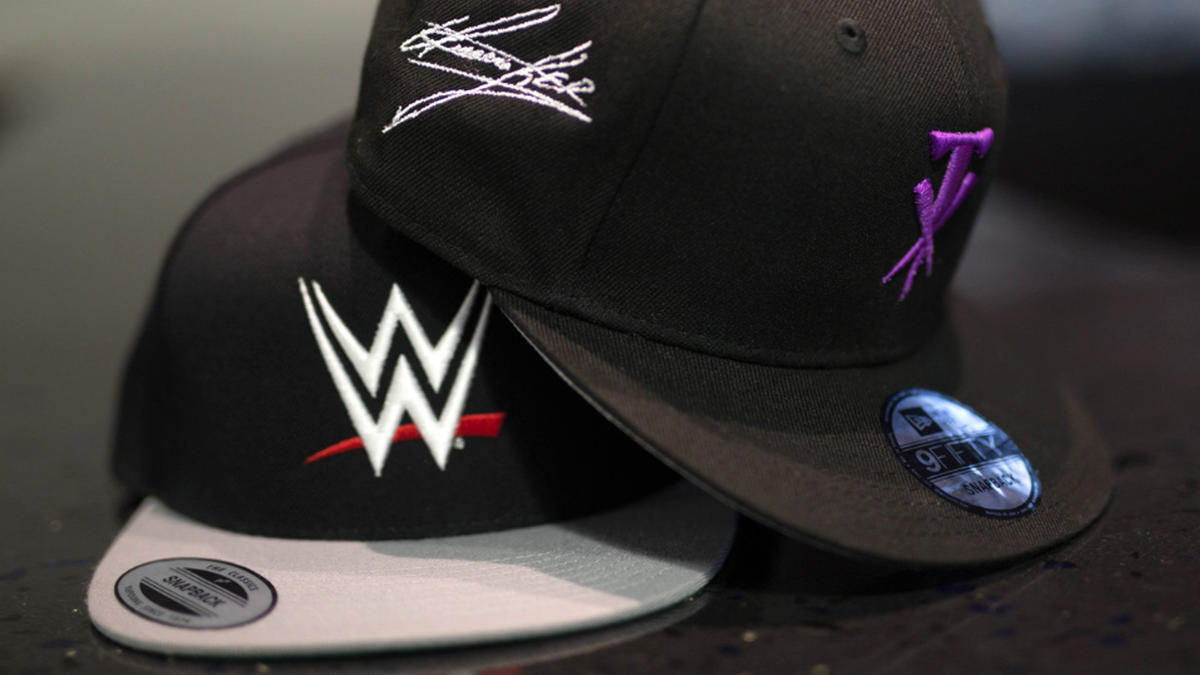 897c00d3591 LIDS Sports Group partners with WWE for custom embroidery