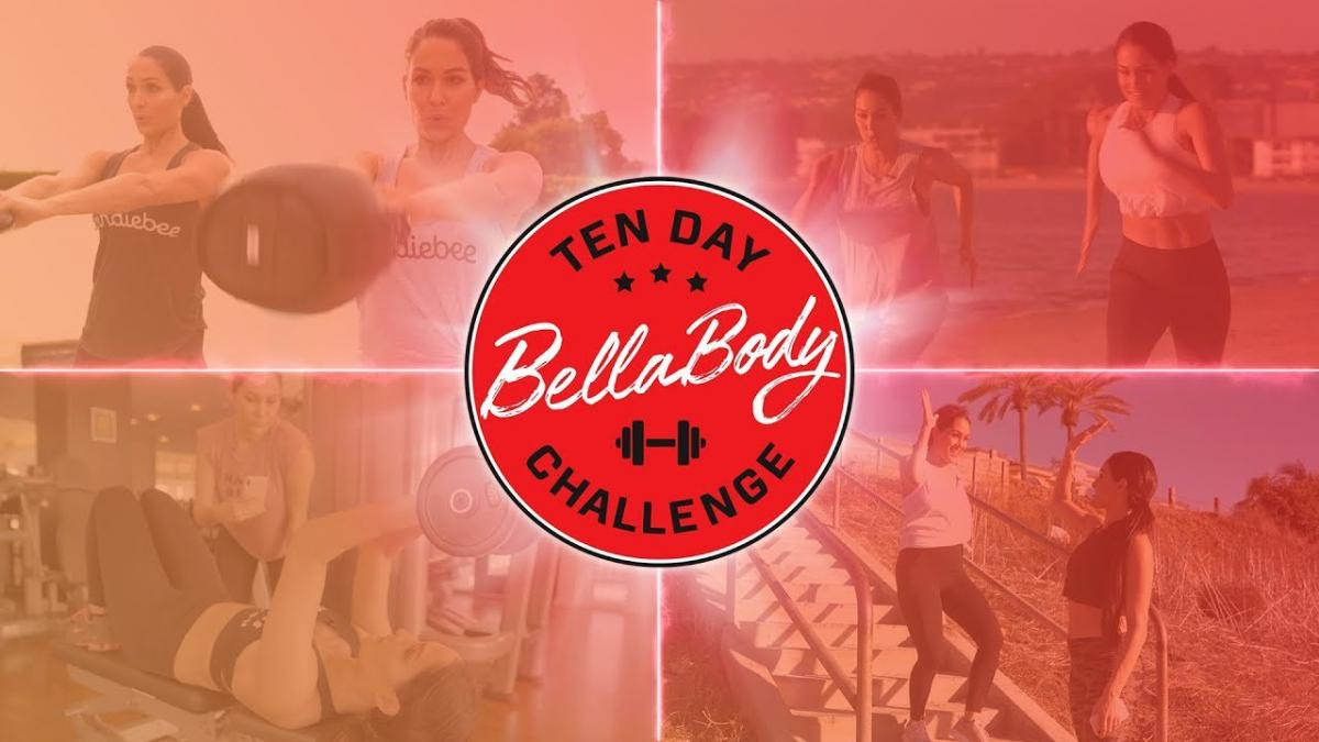 Work Out with The Bella Twins on the BellaBody 10-Day Challenge | WWE