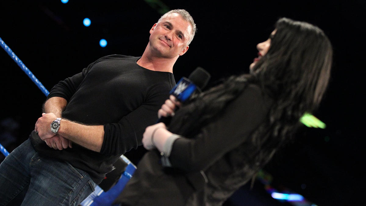 Shane McMahon announced Paige as the new General Manager ...