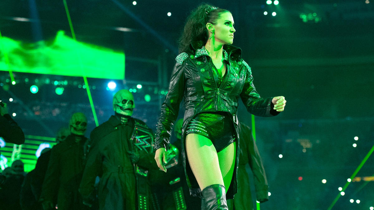 Stephanie McMahon Recalls Water-Spitting Stunt At WWE Wrestlemania 34 2