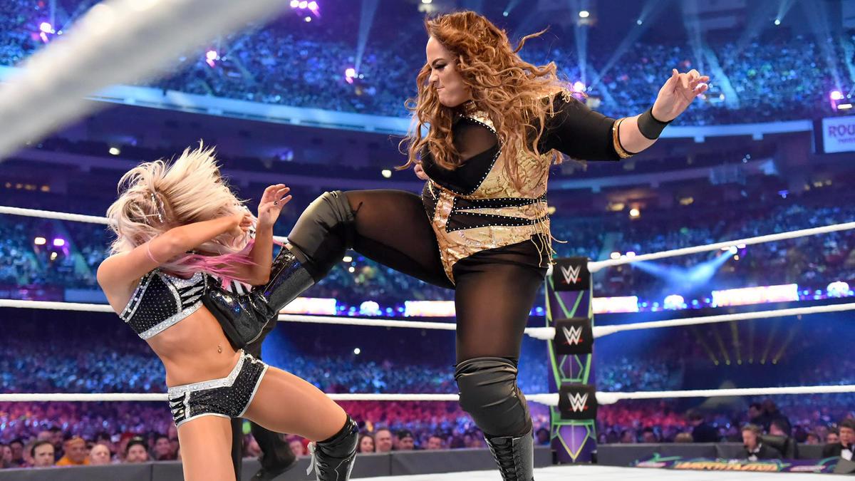 Alexa Bliss Nia Jax WWE Worst 2018