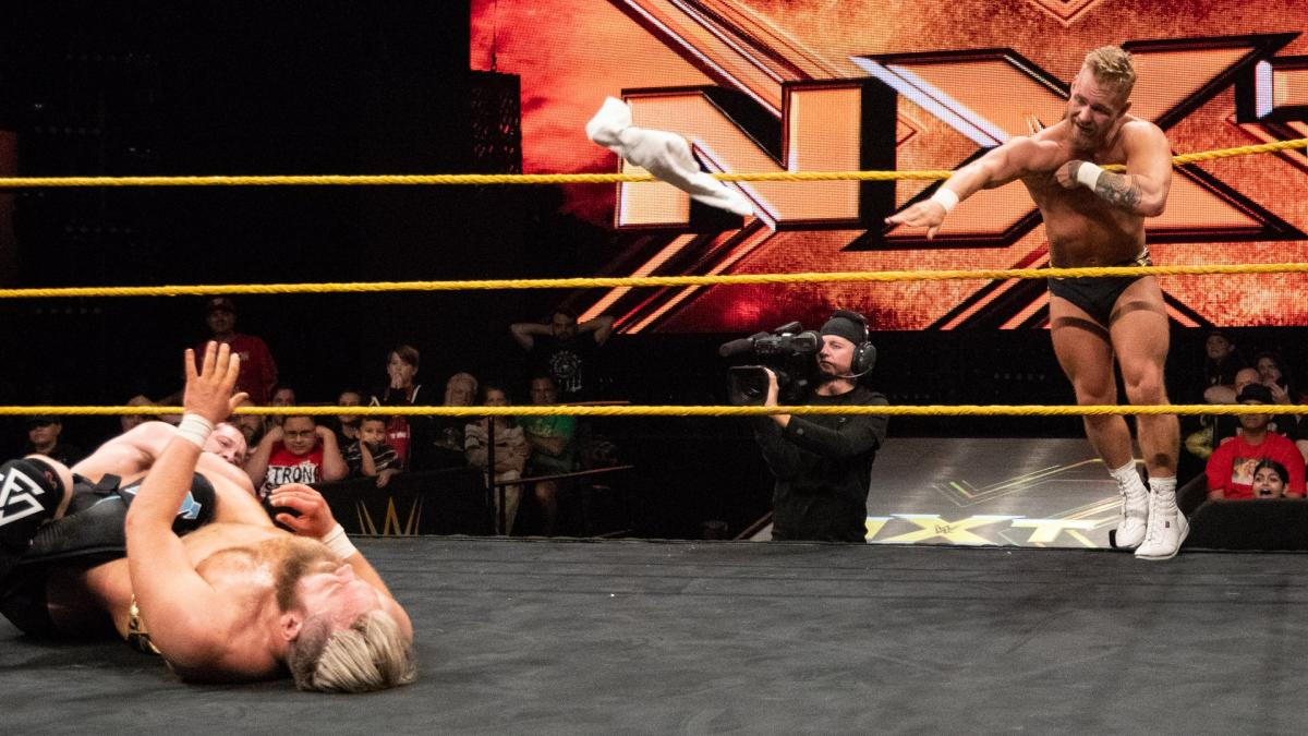 Image result for undisputed era vs mustache mountain nxt tv