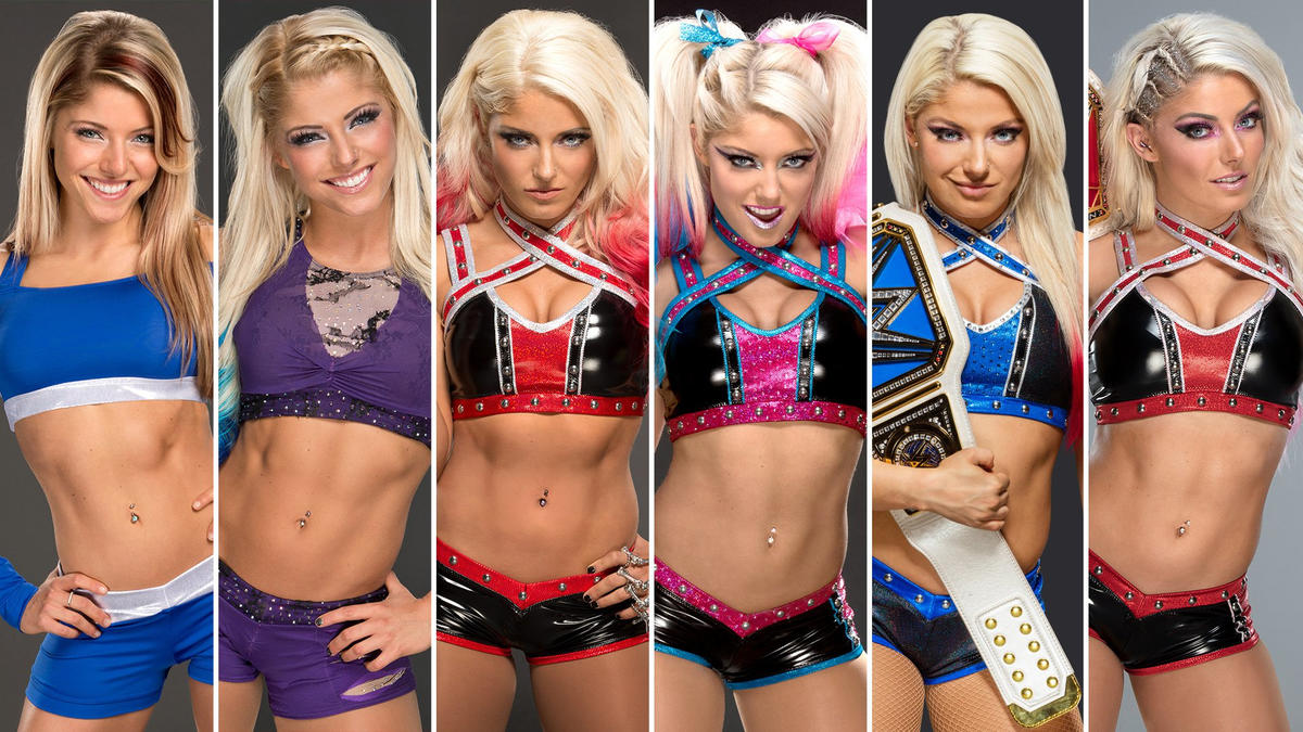 Photos: The evolution of Alexa Bliss - WWE