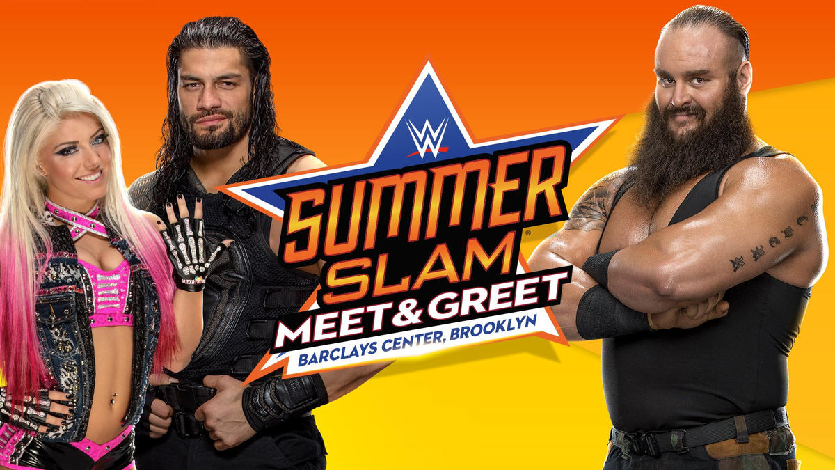 Meet Your Favorite Superstars At The Wwe Summerslam Meet Greets At