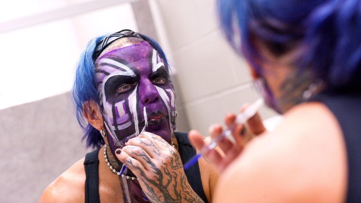 Jeff Hardys Most Enigmatic Facepaint Photos Wwe