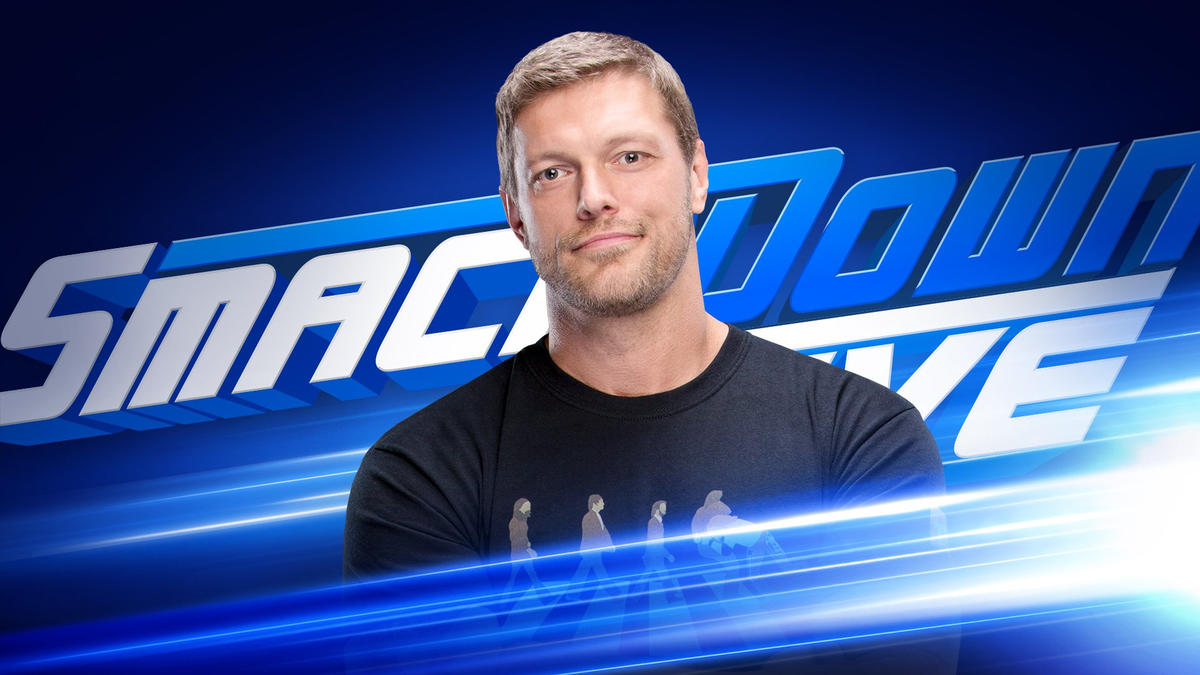 "Image result for Edge returns for a special edition of ""The Cutting Edge"" at SmackDown 1000"
