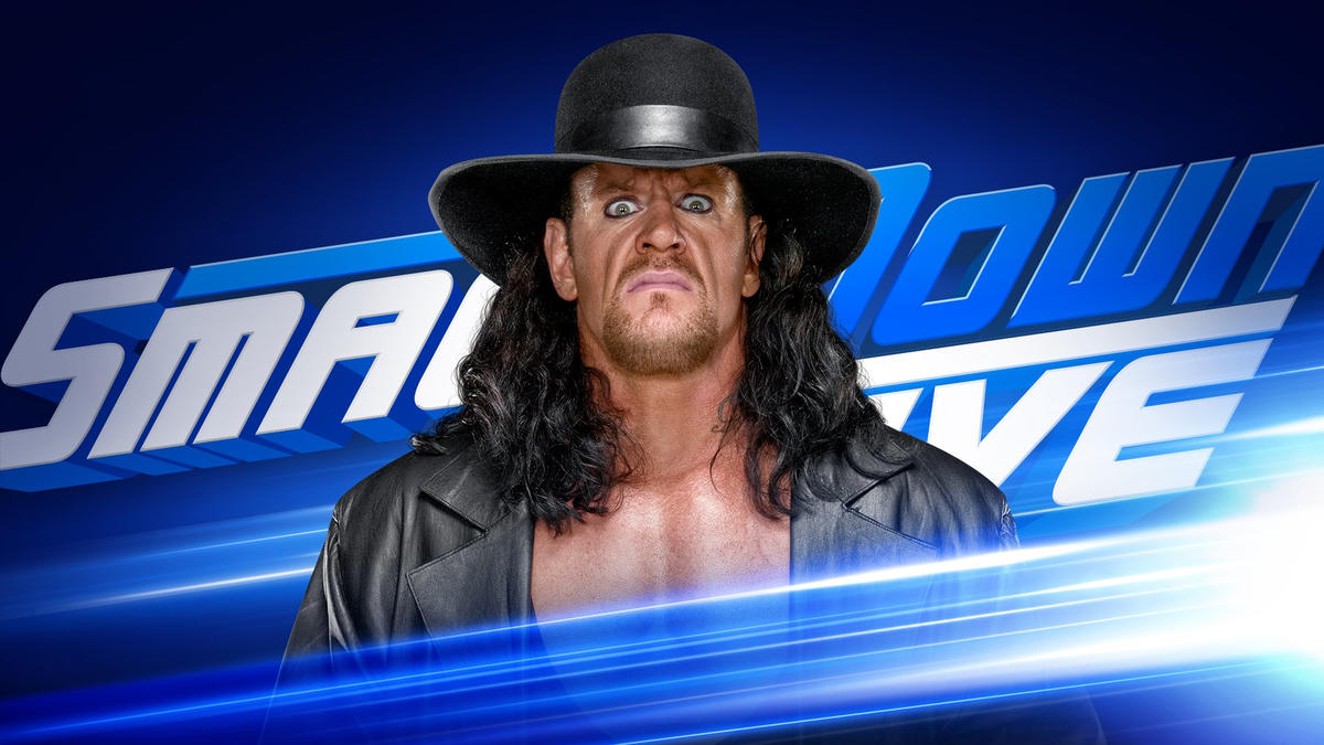 What Does Sd Mean >> The Undertaker comes to SmackDown 1000 | WWE