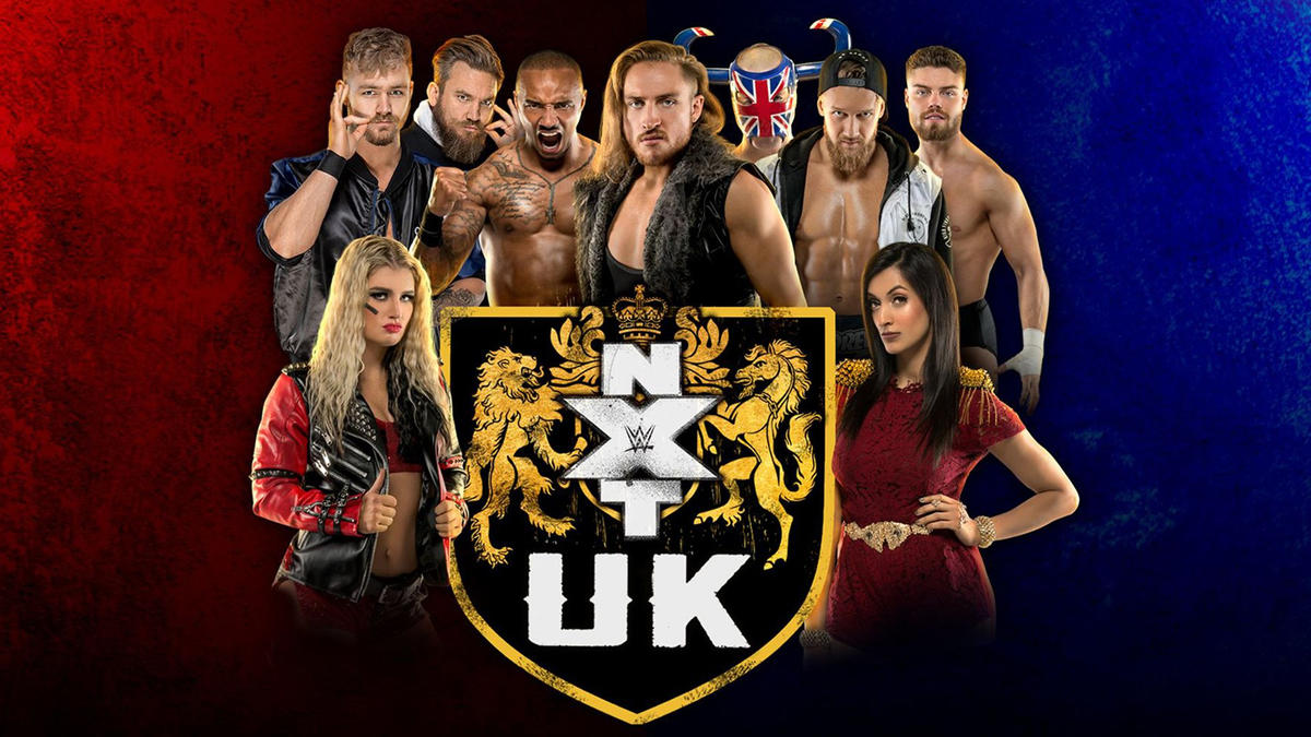 Image result for NXT UK to stream on WWE Network