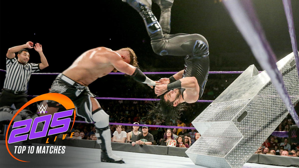 10 Best Wwe 205 Live Matches Wwe