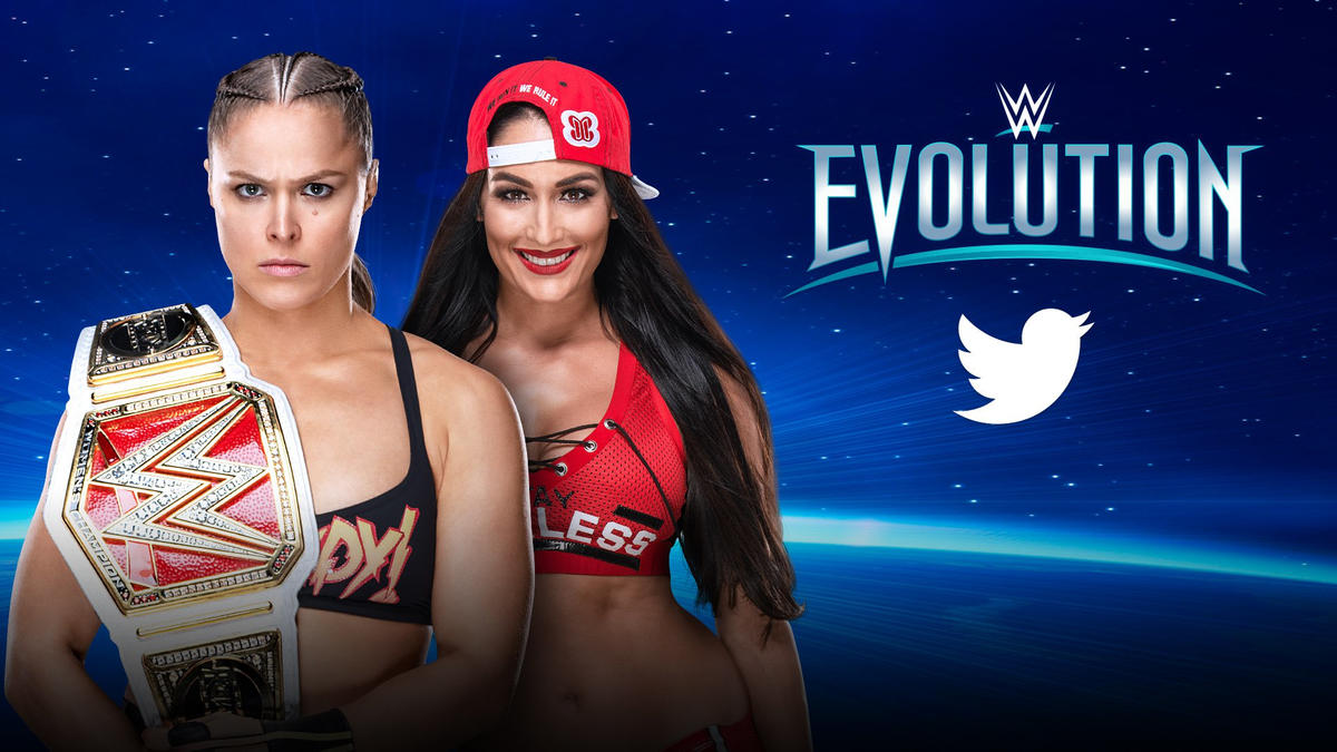 Image result for WWE Evolution twitter