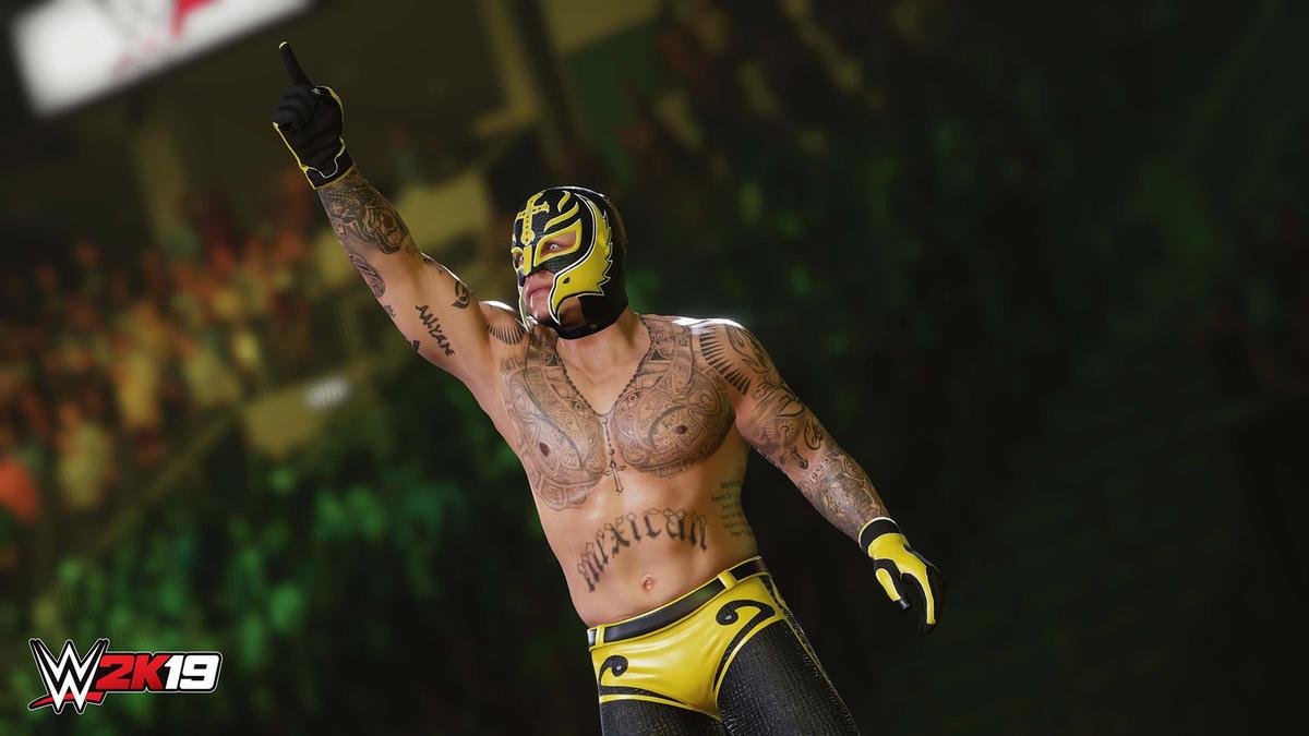 WWE 2K19 Ronda Rousey & Rey Mysterio and Wooooo! Edition DLC
