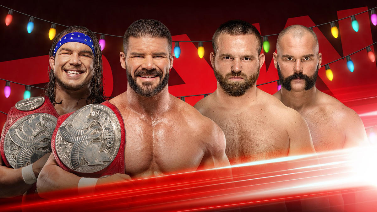 raw tag team titles on the line wwe