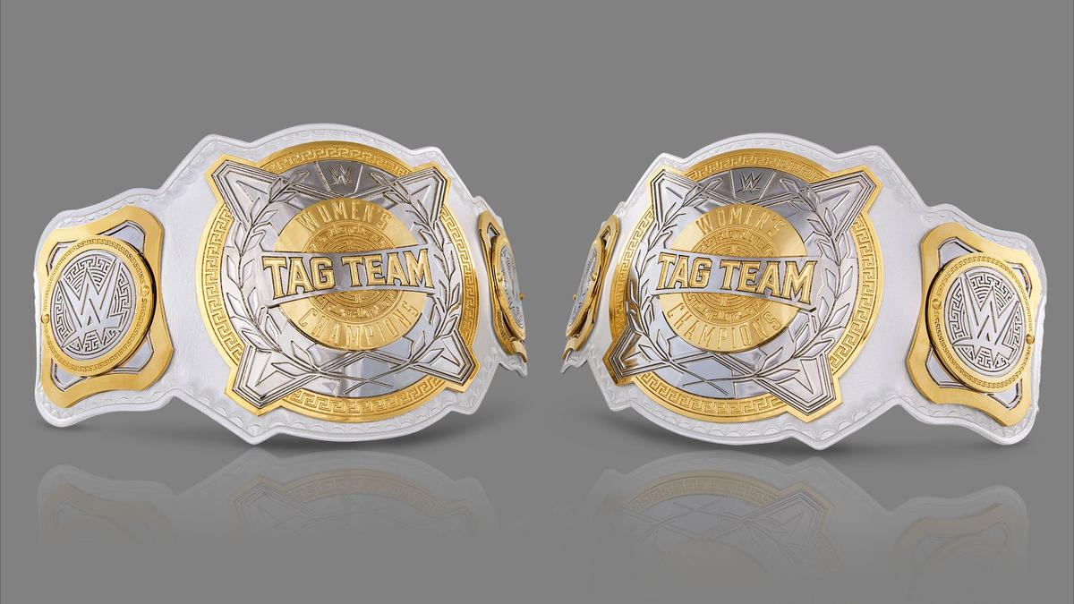 نتيجة بحث الصور عن ‪wwe women's tag team championship‬‏