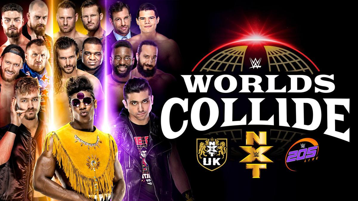 WWE Worlds Collide streams tonight on WWE Network | WWE