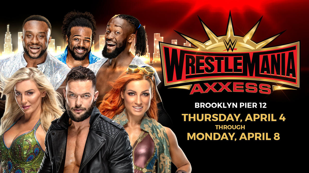 WrestleMania Axxess tickets available now at Ticketmaster com   WWE