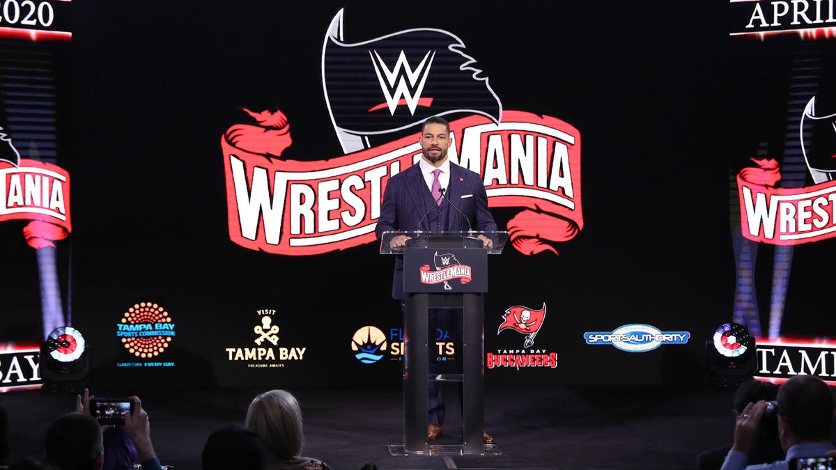 WWE and local dignitaries officially announce that