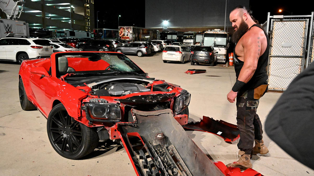 Colin Jost Responds To Braun Strowman Wrecking Gifted Car
