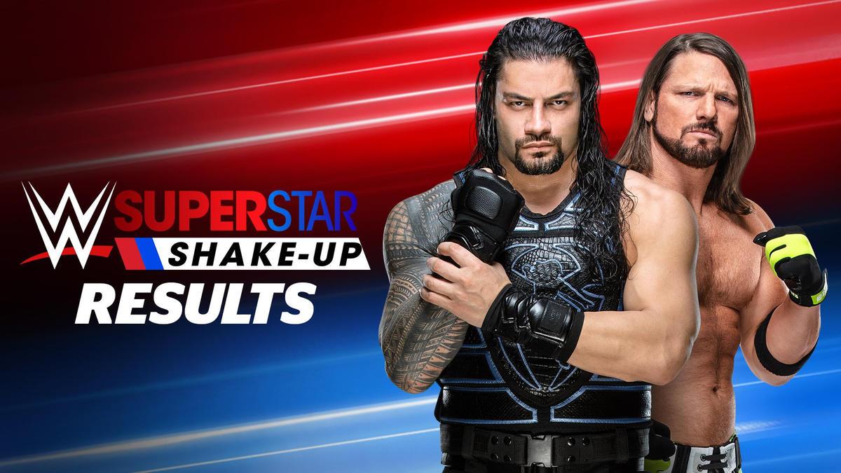 regarder e8749 73f7f 2019 WWE Superstar Shake-up results: photos   WWE