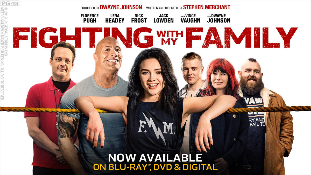 """Fighting with My Family"""" available now on Digital, Blu-ray, DVD & On Demand 