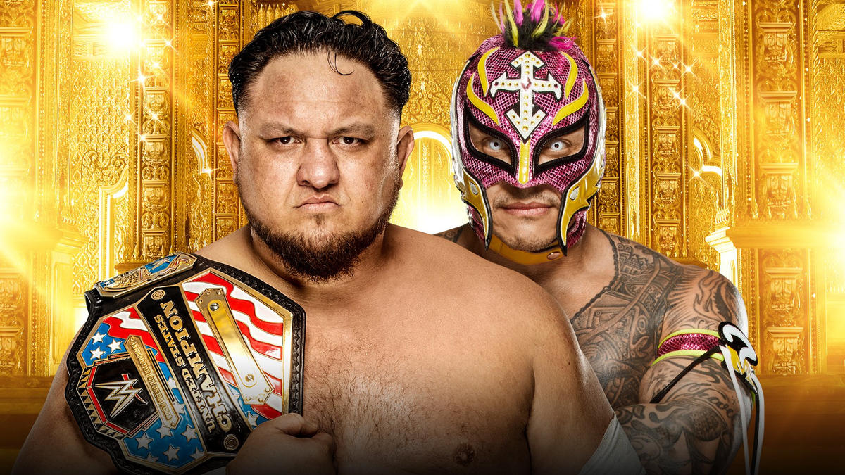 Mysterio battles Samoa Joe for the U.S. Title with opportunity to become Grand Slam Champion