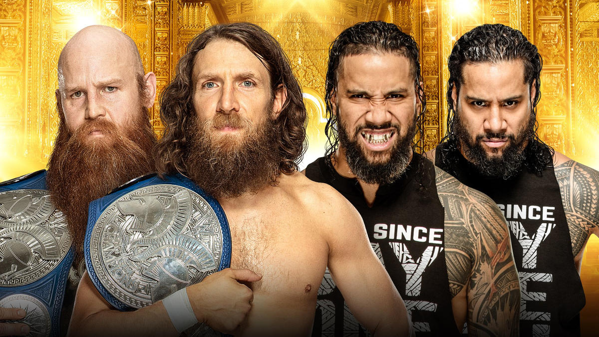 SmackDown Tag Team Champions Daniel Bryan & Rowan battle The Usos on Kickoff