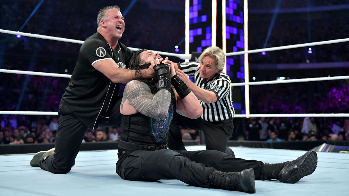 """""""The Best in the World"""" Shane McMahon def. Roman Reigns 