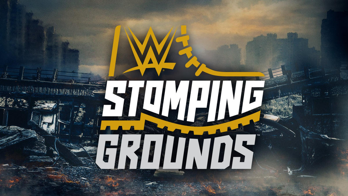 Image result for wwe stomping grounds logo