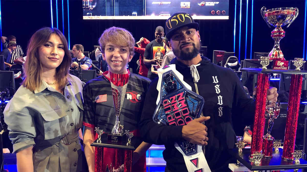 team jimmy uso wins the espn exp apex legends esports celebrity pro