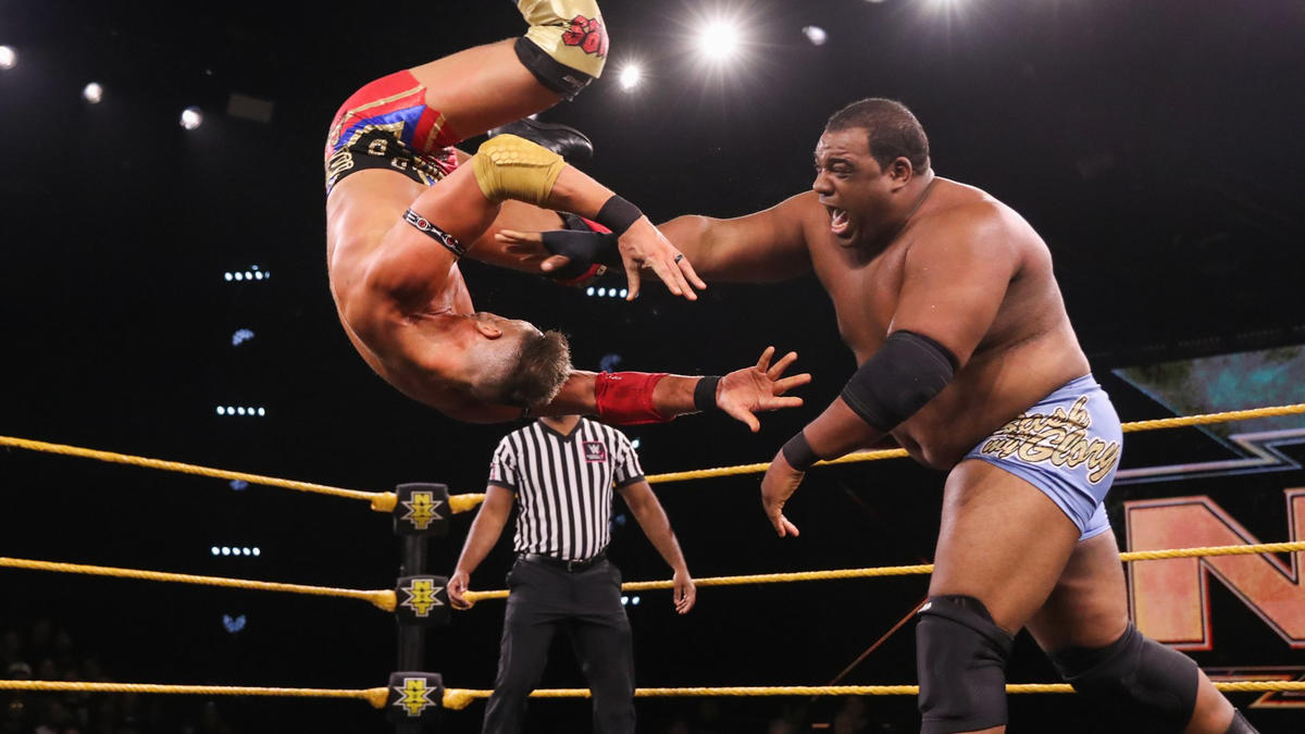 Keith Lee vs. Dominik Dijakovic: photos | WWE