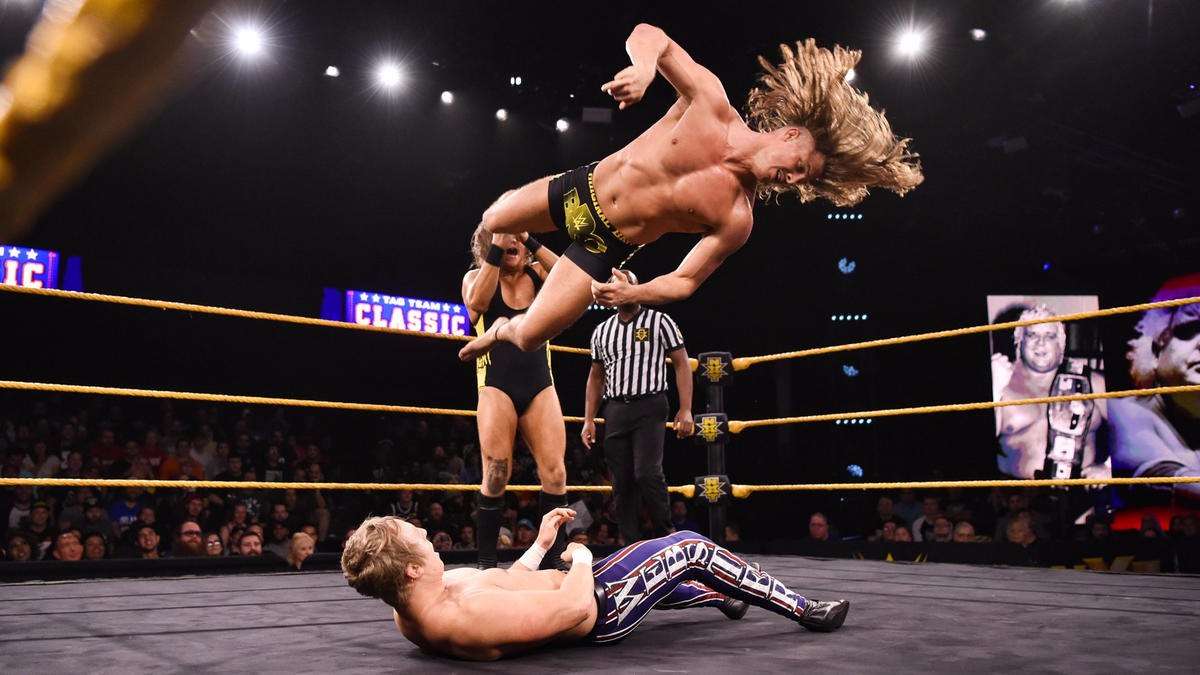 The BroserWeights def. Mark Andrews & Flash Morgan Webster in the first round of The Dusty Classic | WWE