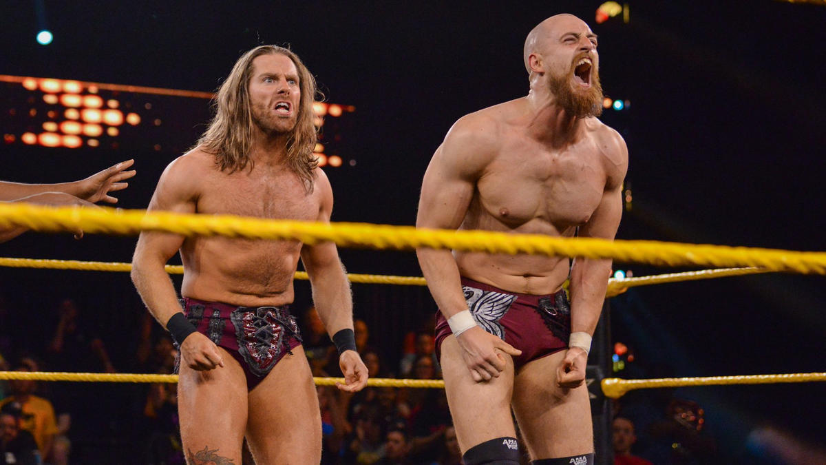 The Grizzled Young Veterans def. Raul Mendoza & Joaquin Wilde   WWE
