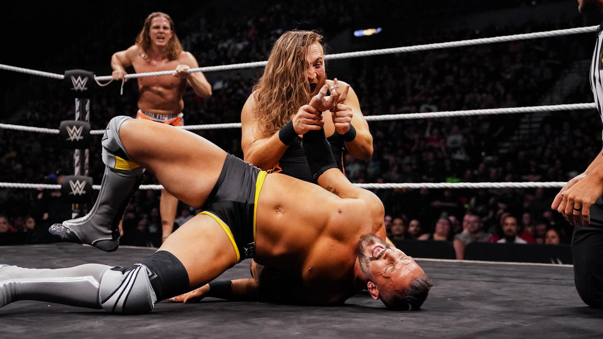 The BroserWeights def. The Undisputed ERA to become NXT Tag Team Champions | WWE