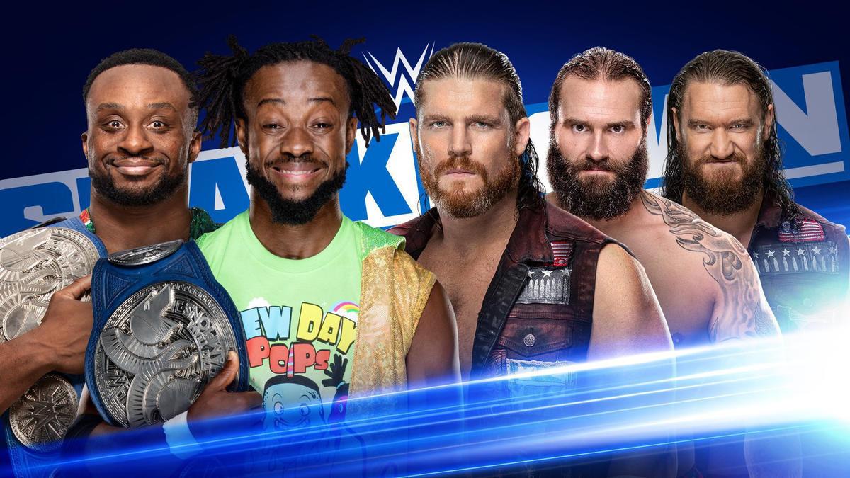Tag Team Match anunciada para o próximo SmackDown