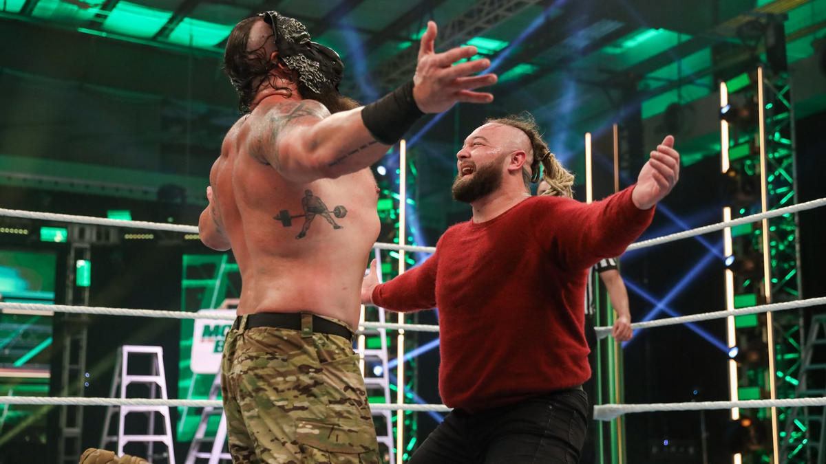 Relive Braun Strowman and Bray Wyatt's showdown at WWE Money in the Bank - WWE