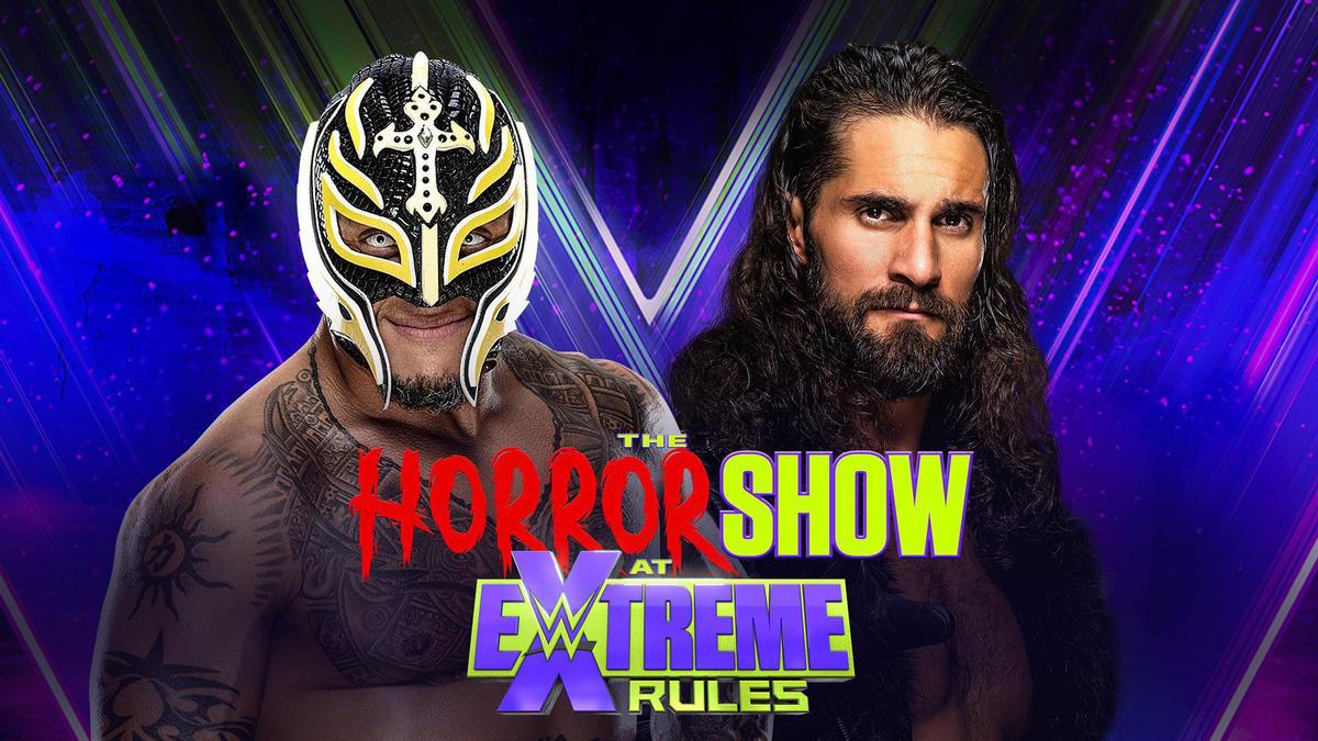 Rey Mysterio vs. Seth Rollins – Eye for an Eye Match | WWE