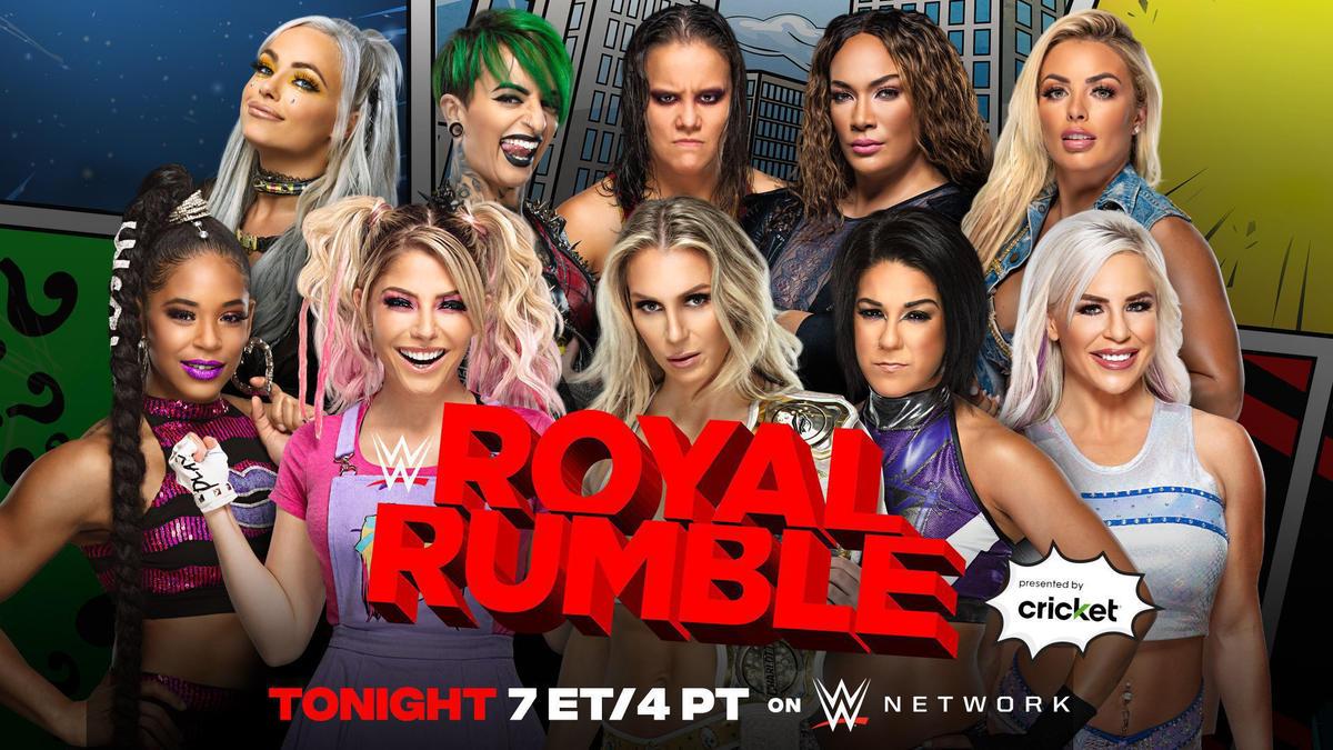 Live wwe royal rumble 2021 WWE