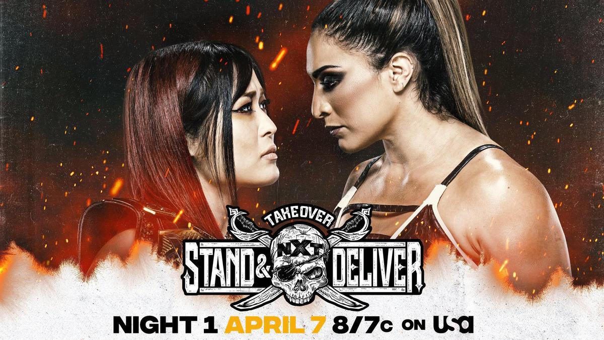 NXT Women's Champion Io Shirai vs. Raquel González   WWE
