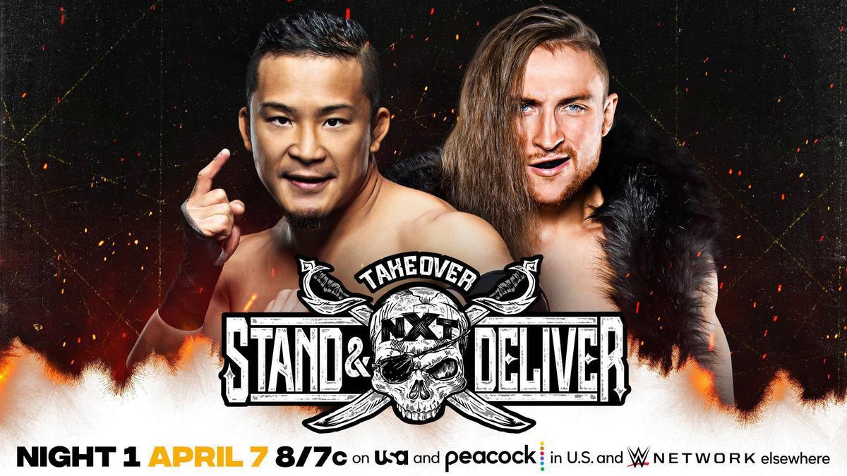 Kushida vs. Pete Dunne   WWE